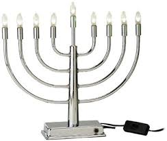 cheap menorah 15 best electric menorahs led battery usb operated hanukkah