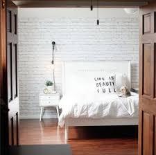 brilliant white brick wall home pinterest white brick walls