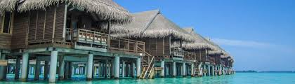luxury water bungalow in the maldives