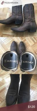 ariat s boots size 12 worn 3x ariat heritage r toe size 12 boots size 12