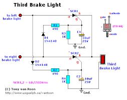 brake light schematic led third brake light circuit schematic