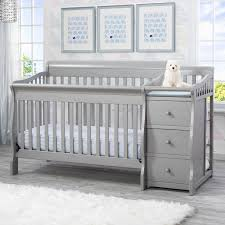 delta children princeton junction 4 in crib and changer combo
