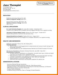 physical therapist resume speech pathology resume exle unique sle resume for physical
