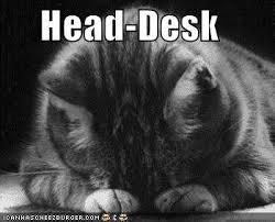 Head Desk Meme - bright nepenthe august 2012