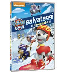 image paw patrol winter rescues dvd italy jpg paw patrol wiki