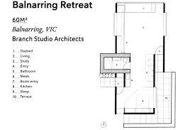 a floorplan a floorplan of the balnarring retreat in abc