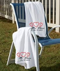 wedding gift towels set of marriage embroidered towels wedding