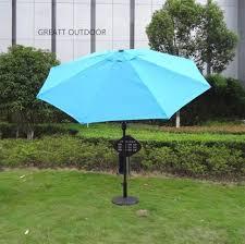 aluminum patio umbrella with crank and tilt big umbrella buy big