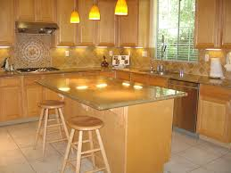 Maple Kitchen Islands Kitchen With White Painted Wooden Maple Cabinet And Varnished