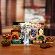 Cheese And Sausage Gift Baskets Father U0027s Day Gift Cutting Board And Cleaver Cheese Sausages