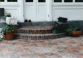 Brick Stairs Design Outdoor Steps Brick Walkway Patio Staircase Wood