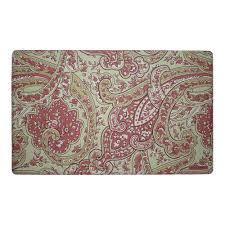 rust kitchen rugs u0026 mats mats the home depot