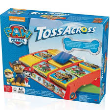 stortfordtoys paw patrol table toss cross game