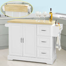 kitchen trolleys and islands extendable kitchen islands carts ebay