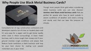 Best Place To Get Business Cards Importance Of Metal Business Cards In Any Business