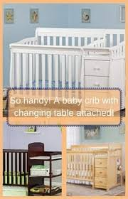 Baby Cribs With Changing Table Attached 15 Fascinating Cribs With Attached Changing Table Pic Baby Crib