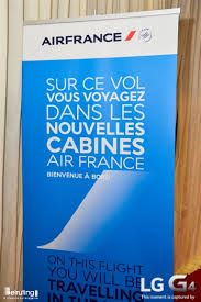 volvous beiruting events avant premiere of airfrance boeing 777 300