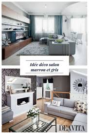 Amenager Bureau Dans Salon Best 25 Salon Marron Ideas On Pinterest Cuir Vintage 15 Mai