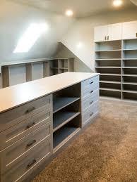 Lighting For Sloped Ceilings by Bonus Room Closet Ideas For Angled Ceilings
