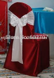 Chair Sashes For Weddings 100pcs Free Shipping White Satin Chair Sash For Wedding Use In