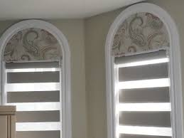 half moon window shades