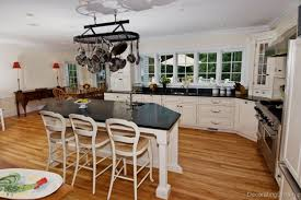 best modern kitchen designs with wooden kitchen island and black