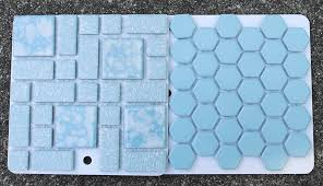 Blue Ceramic Floor Tile 2 New Porcelain Hex Tile Floor Options For Your Vintage Pastel