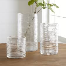 Tin Vases Decorative Vases Glass And Ceramic Crate And Barrel