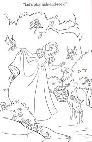 43 best snow white coloring pages images on pinterest coloring