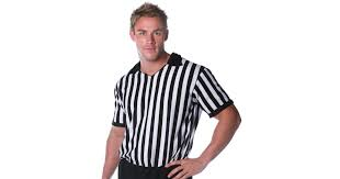 Referee Halloween Costumes Referee Shirt Costume Buycostumes