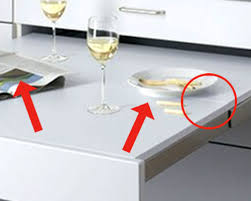Alnos PullOut Dining Howd They Do That Or How Would You Do - Kitchen pull out table
