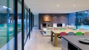 the house replaces a large suburban style two storey house in a