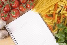 livre de cuisine vierge sélection des spaghettis italiens et les pâtes avec le livre de