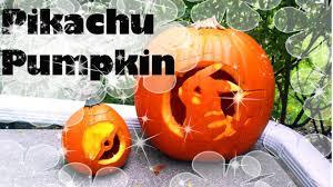 pikachu pumpkin carving timelapse youtube
