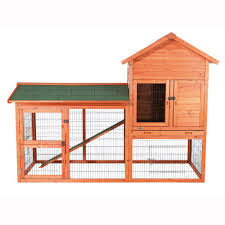 Heavy Duty Rabbit Hutch Trixie 6 5 Ft X 3 Ft X 4 8 Ft Outdoor Run Rabbit Hutch 62332