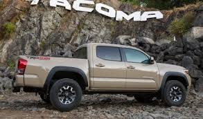 redesign toyota tacoma redesigned 2016 toyota tacoma pricier than rivals u s