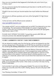 class reunions website planning tips and ideas for your high school reunion this class