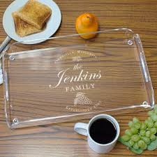 personalized photo serving tray personalized serving trays personalized platters gifts for you now