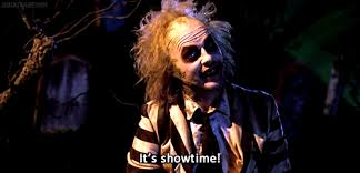Beetlejuice Meme - beetle juice its show time gif find share on giphy