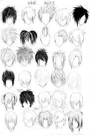 draw realistic hair anime drawings and manga