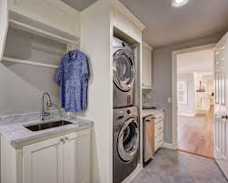 White Cabinets For Laundry Room Gray And White Laundry Room Ideas Photos Houzz