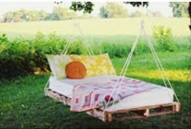 canapé suspendu ƹ ӂ ʒ diy un lit suspendu avec des palettes ƹ ӂ ʒ lit suspendu