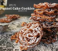 apple pie funnel cake cookies oh bite it