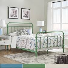 giselle ii queen metal bed inspire q modern free shipping today