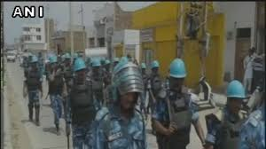 Military Flag Case Gurmeet Ram Rahim Verdict Army In Sirsa Police Carry Out Flag