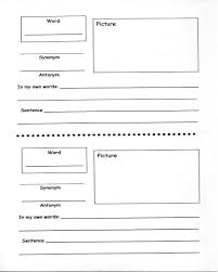 marzano vocabulary worksheet free worksheets library download