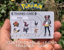 Pokemon Trainer Card Designer Custom Pokémon Trainer Card Kanto Design