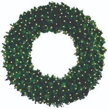 decorated wreaths expert outdoor lighting advice