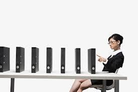 blanc au bureau mme uniformes une femme au bureau une femme en col blanc
