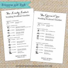 wedding itinerary for guests wedding itinerary for bridal party template free wedding itinerary